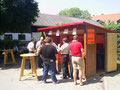 Der Getränkestand der FF Wagendorf und FF Labuttendorf