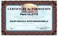 Praticien Equipe Medicale Inter-Dimensionnelle, Pierre Villette, Paris 17