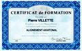 Maitre Enseignant Alignement Axiatonal, Pierre Villette, Paris 17