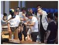 木野島講師の手先に熱い視線が注がれます