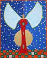 Schneeengel - Juli 2004 - 40x50 - verkauft