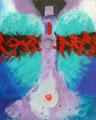 Gabriel-Strasse der Sünder - 2004 - 80x100