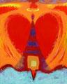 Gabriel-Herzengel - 2004 - 80x100 cm