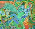 Liegen im Grünen - Juni 2006 - 100x80 cm - verkauft