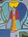 Blaues Licht - November 2012 - 30x40 cm