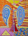 Engel der Vernunft - Juni 2009 - 60x80 cm