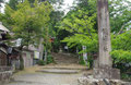 鏡神社入口の鳥居
