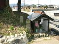 大沢の地蔵堂と道標2基、26年2月23日再撮影