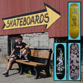 2009. Guenter Mokulys Skateboard Decks.
