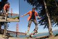 2010. San Francisco. Golden Gate Bridge, Am Golden Gate National Park.