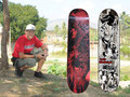 2007 Guenter Mokulys Decks von Decomposed-Skateboards.