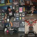 USA, Simi Vally. Show im größen Skateboard-Museum.