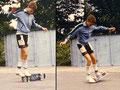 1983: Crossfoot Railflip, Nohand Casper.