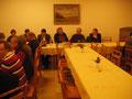 Mitglieder bei der Jahreshauptversammlung