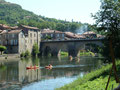 Saint Antonin (82), Berges de l'Aveyron, canoë kayak