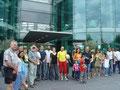 Besuch im Hanger 7 in Salzburg