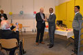 Asvin Lakkaraju receives an award from Peter MacLaverty at the SCA / GXIStars Awards evening (19.1.2013)