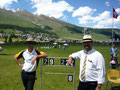 Officials Mr. Ian Bond (CH) & Mr. Peter de Boeck (BE)