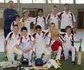 Basel Dragons win the 2013 Gingins U13 indoor cricket tournament