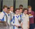 Zurich Crickets win the 2013 Gingins U15 indoor cricket tournament