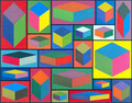 Peinture Sol Lewitt