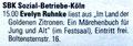 Ankündigung Lesung im Kölner Wochenspiegel 2014