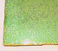 Vert pistache. 10 € le kg.