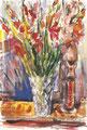 Vaso con gladioli (1965)