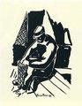 Pescatore costruttore di nasse (1951)