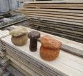 Грибочки деревянные
