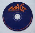 CD-RW шелкография_ 2 пантона + белая подложка,тех кольцо