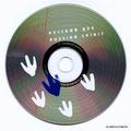CD шелкография 2 пантона по серебру диска