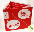 № 43 - Диджипак CD 6 полос, 1 спайдер + прорезь