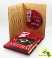 № 218 – Гофропак в виде Диджипак DVD 4 полосы, 1 спайдер + СлипКейс