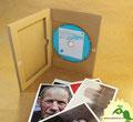 № 220 – Гофропак в виде Диджипак DVD 4 полосы, 1 спайдер, ложемент под диск и буклет
