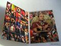 Диджипак (DigiPak) DVD формата (4 полосы)_1 трей