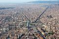 """Barcelone / Barcelonés - Tour Agbar et l'Avenue """"Diagonale"""""""