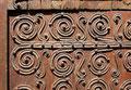 Vinça (St Julien & Ste Baselisse) - Détail porte