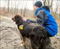 Rettungshundetraining