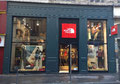 2014 //  Window THE NORTH FACE store_Lyon Les Terreaux