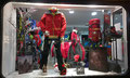 2014 // Christmas window MILLET Expert shop_Chamonix Mt Blanc