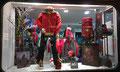 2014 // Christmas window MILLET Expert shop_Chamonix Mt Blanc