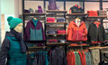 2016 // Visual Merchandising THE NORTH FACE outlet store _Stabio
