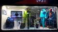 2017 // Christmas window MILLET Expert shop_Chamonix Mt Blanc