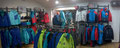 2017 // Visual merchandising MILLET Expert shop_Chamonix Mt Blanc