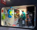 2017 // Window MILLET Expert shop_Chamonix Mt Blanc