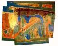 Ohne Titel - 2008 - Acryl auf Papier - ca. 62 x 75 cm