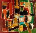 Ohne Titel - 2008 - Acryl auf Papier - 27,8 x 30 cm