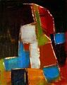 Ohne Titel - 2009 - Acryl auf Papier - 31,2 x 25 cm