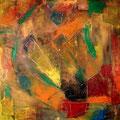 Ohne Titel - 2008 - Acryl auf Holz - 70 x 70 cm